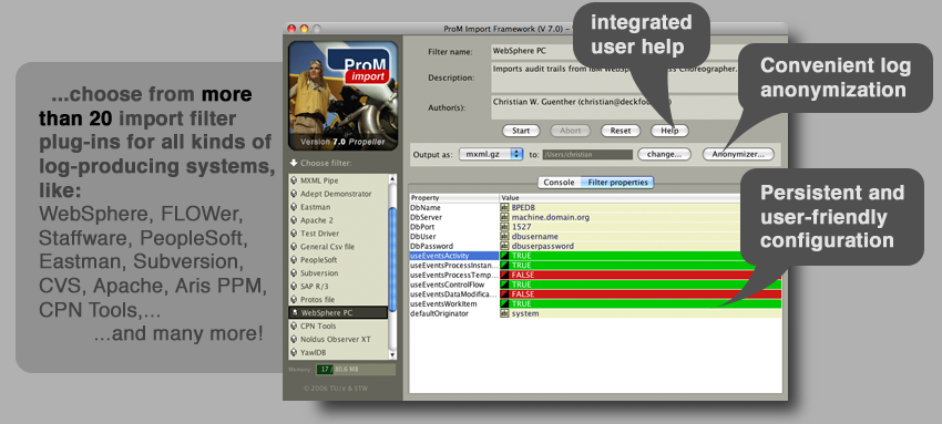 The ProM Import Framework